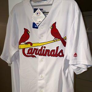 St. Louis Cardinals Mens XL Majestic #46 Jersey
